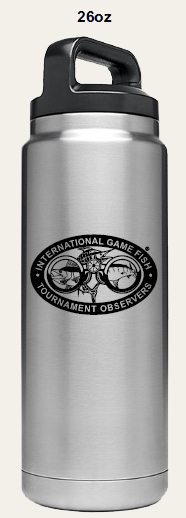 Yeti 26 oz IGFTO branded Rambler bottle $40